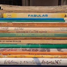 Libros de segunda mano: LOTE DE 23 SUPER CUENTOS. Lote 254103460