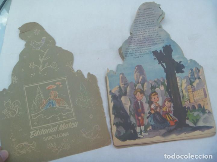 Libros de segunda mano: CUENTO TROQUELADO : MONTSERRAT LA CATALANITA . DIBUJOS DE CONSTANZA. AÑOS 60 - Foto 2 - 254415800
