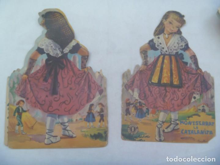 Libros de segunda mano: CUENTO TROQUELADO : MONTSERRAT LA CATALANITA . DIBUJOS DE CONSTANZA. AÑOS 60 - Foto 3 - 254415800