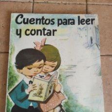 Libros de segunda mano: CUENTOS PARA LEER Y CONTAR - EDITORIAL CARRO VERDE - AÑO 1963 - 64 PAGINAS. Lote 254722810