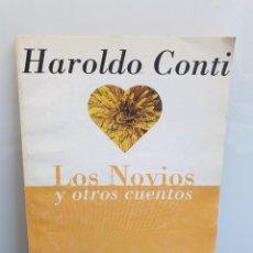 Libros de segunda mano: LOS NOVIOS Y OTROS CUENTOS. HAROLD CONTI. PÁGINA/12 - EMECÉ EDITORES 1994. (ENVÍO 2,50€). Lote 254907450