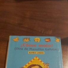 Libros de segunda mano: COMO MOLO ELVIRA LINDO ALFAGUAY 1999. Lote 255669525