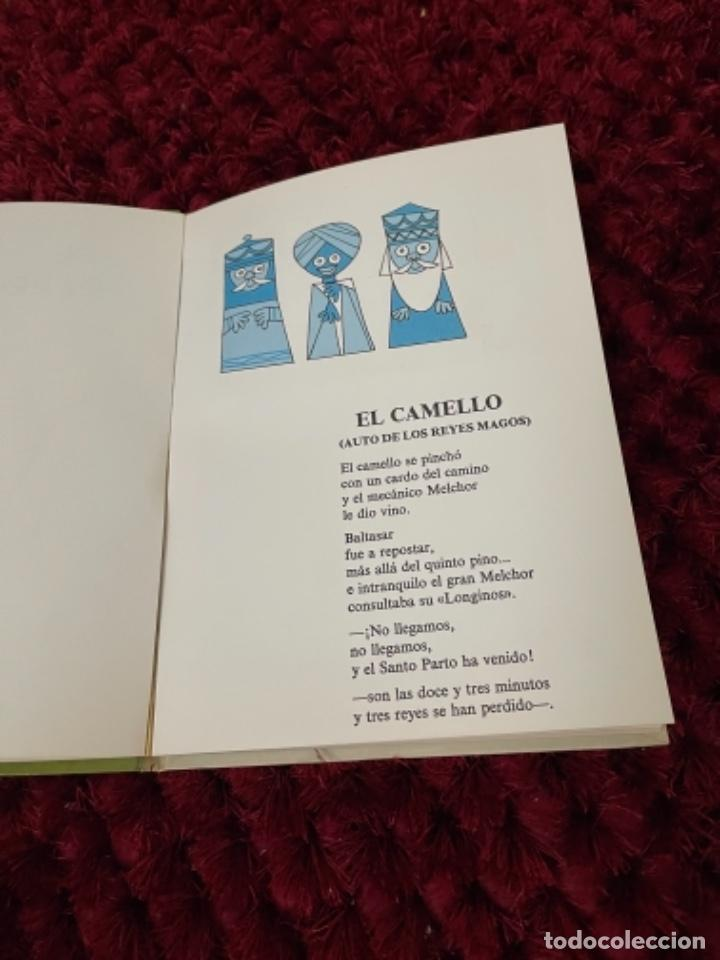 Libros de segunda mano: GLORIA FUERTES EL CAMELLO COJITO DIBUJOS JULIO ÁLVAREZ. EDT. ESCUELA ESPAÑOLA 1973 primera Ed. Ta - Foto 7 - 255966050