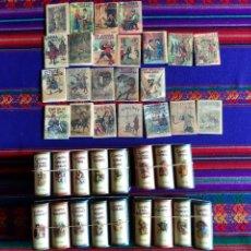 Libros de segunda mano: FACSÍMIL RBA 227 CUENTO DE CALLEJA CON 17 ESTUCHE. MUY BUEN ESTADO.. Lote 256008575