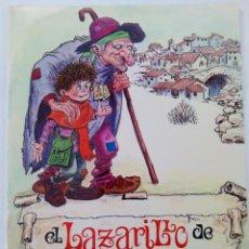 Libros de segunda mano: EL LAZARILLO DE TORMES - SERIE LECTURAS. Lote 257301340