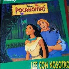 Livros em segunda mão: LOTE VINTAGE CUENTOS INFANTILES DISNEY: EL REY LEON MOVILIBRO, LA BELLA DURMIENTE Y POCAHONTAS. Lote 258137420