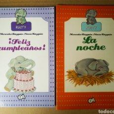 Livres d'occasion: LOTE RUSTY: NÚMEROS 2-5-7 (EDICIONES ALONSO, 1989), POR MERCEDES Y NIEVES RÁZQUIN.. Lote 259772120