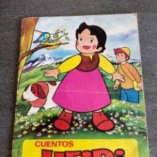 Libros de segunda mano: CUENTOS HEIDI - UN DÍA DE PESCA. Lote 260851780
