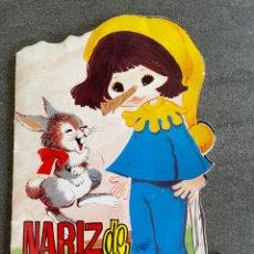 Libros de segunda mano: NARIZ DE MADERA - CUENTOS TORAY. Lote 260857440