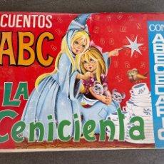 Libros de segunda mano: CUENTOS ABC - LA CINICIENTA. Lote 260859040
