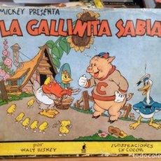 Libros de segunda mano: MICKEY PRESENTA LA GALLINITA CIEGA - WALT DISNEY - 1935 - PRIMERA EDICION - EDITORIAL MOLINO. Lote 261252790