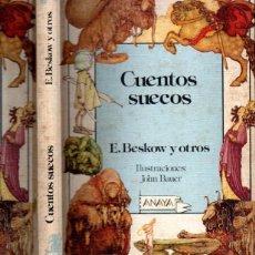 Libros de segunda mano: BESCOW ; CUENTOS SUECOS (ANAYA, 1986). Lote 261313565