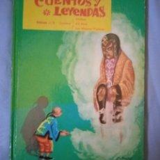 Libros de segunda mano: CUENTOS Y LEYENDAS. Nº 6. EDT. VASCO AMERICANA . 1962. Lote 261555115