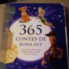 Libros de segunda mano: 365 CONTES DE BONA NIT.DISNEY.EN CATALAN.. Lote 261562590