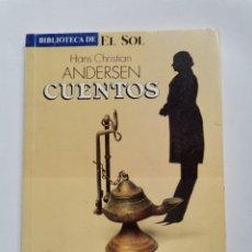 Libros de segunda mano: CUENTOS HANS CHRISTIAN ANDERSEN TAPA BLANDA 96PAG 1991. Lote 261562690