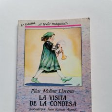 Libros de segunda mano: LA VISITA DE LA CONDESA PILAR MOLINA 1987. Lote 261565515