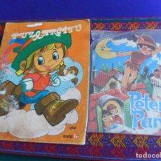 Libros de segunda mano: PRECINTADO CUENTO TROQUELADO PETER PAN EDITORIAL ANTALBE 1983. REGALO PULGARCITO Nº 2 FHER 1977 RARO. Lote 261678940