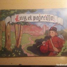 Libros de segunda mano: LUY EL PAJECILLO CUENTO AÑO 1950 EDITORIAL MIÑOS. Lote 261679390
