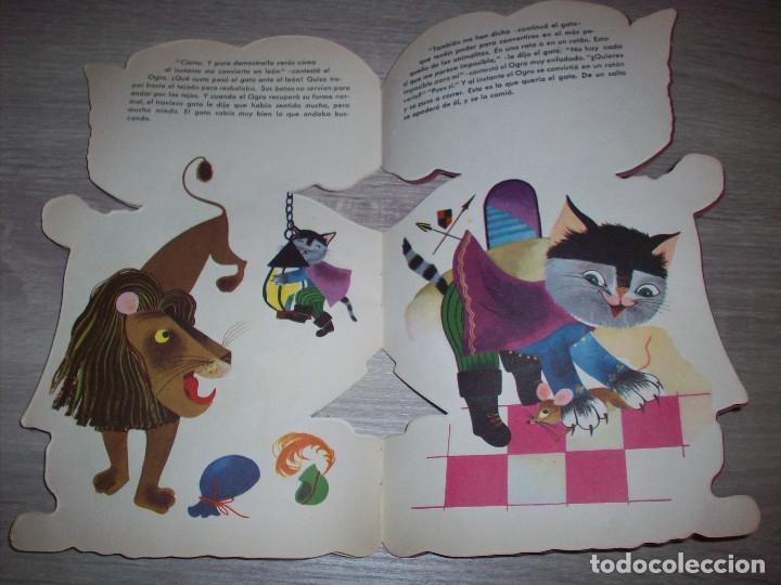 Libros de segunda mano: cuento troquelado editorial durben el gato con botas 1963 ilustracion concha matamoros - Foto 2 - 261808255