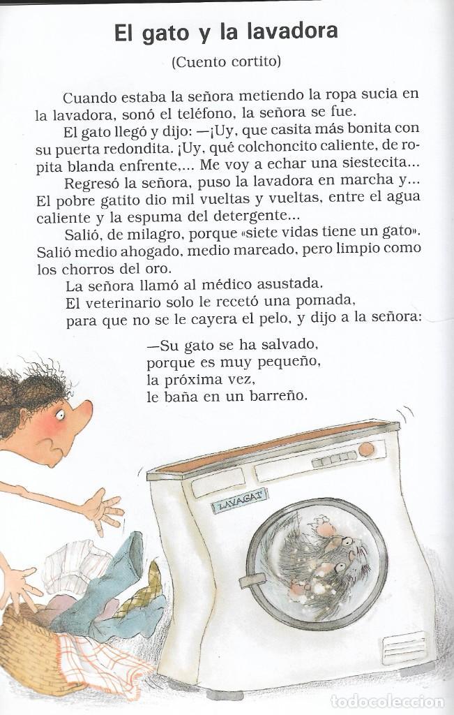 Libros de segunda mano: PACA LA VACA FLACA Y MUCHOS CUENTOS MÁS - GLORIA FUERTES - EDT. ESCUELA ESPAÑOLA, S.A., 3ª Ed. 1992 - Foto 4 - 262445085