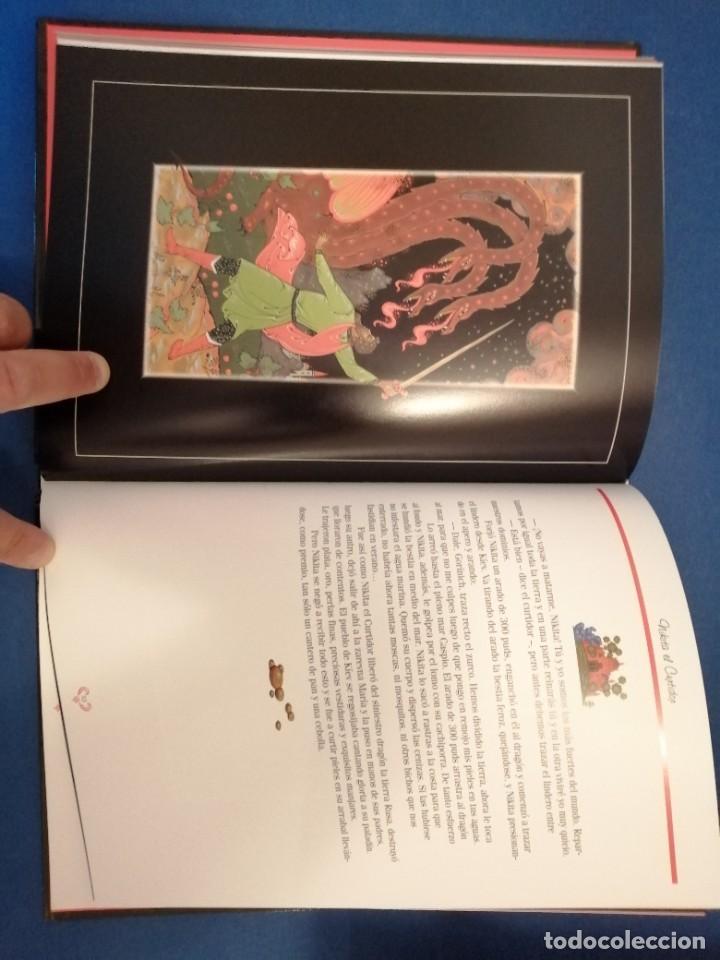 Libros de segunda mano: CUENTOS POPULARES RUSOS PINTURA DE PALEKH - Foto 2 - 262771725