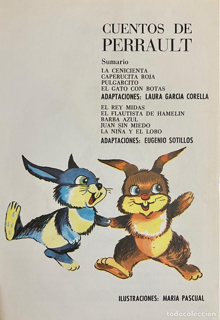 Libros de segunda mano: 1968, CUENTOS DE PERRAULT. Adaptación Laura García Cornelia y Eugenio Sotillo. - Foto 3 - 262819810