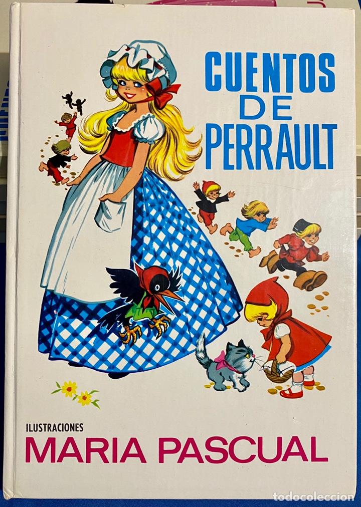 1968, CUENTOS DE PERRAULT. ADAPTACIÓN LAURA GARCÍA CORNELIA Y EUGENIO SOTILLO. (Libros de Segunda Mano - Literatura Infantil y Juvenil - Cuentos)