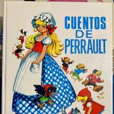 Libros de segunda mano: 1968, CUENTOS DE PERRAULT. ADAPTACIÓN LAURA GARCÍA CORNELIA Y EUGENIO SOTILLO.. Lote 262819810