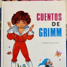 Libros de segunda mano: 1969, CUENTOS DE GRIMM. TERCERA SELECCIÓN. ADAPTACIÓN DE EUGENIO SOTILLO.. Lote 262821140