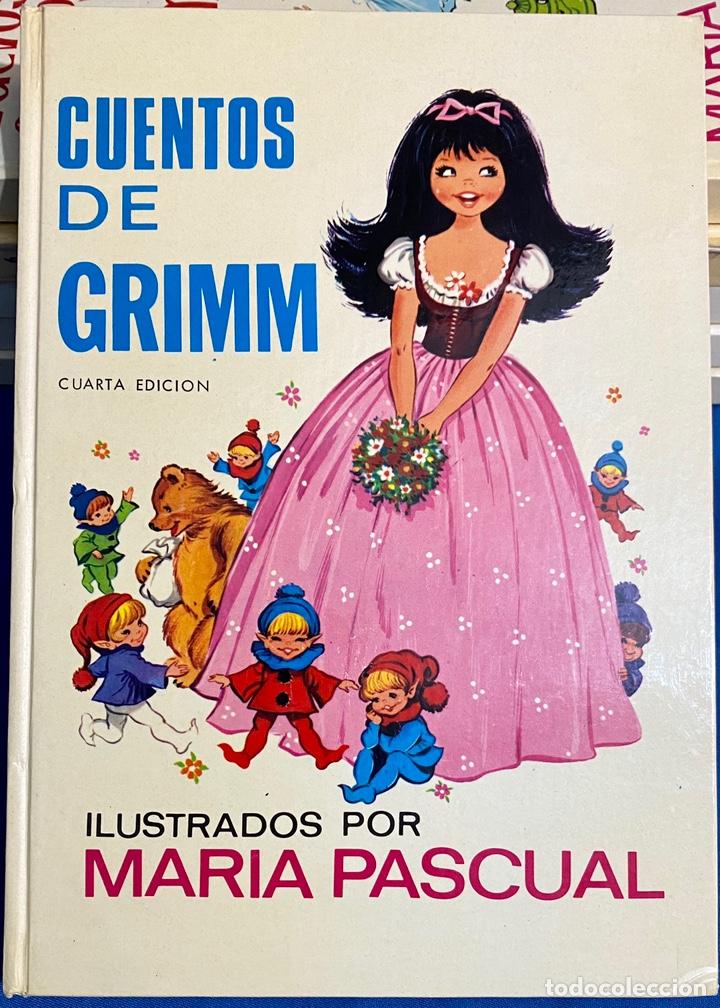 1970, CUENTOS DE GRIMM. ADAPTACIÓN DE EUGENIO SOTILLO. (Libros de Segunda Mano - Literatura Infantil y Juvenil - Cuentos)