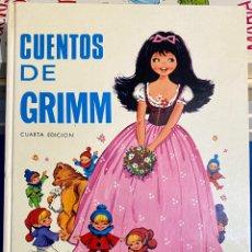 Libros de segunda mano: 1970, CUENTOS DE GRIMM. ADAPTACIÓN DE EUGENIO SOTILLO.. Lote 262821745