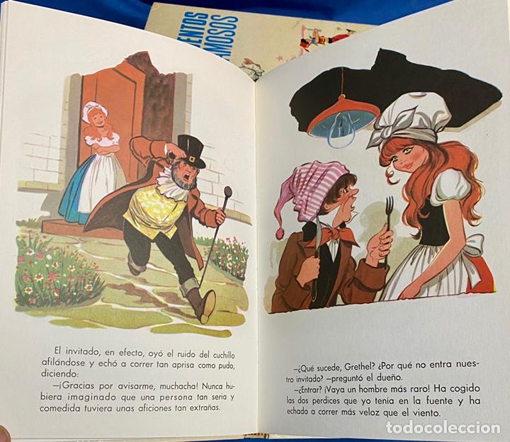 Libros de segunda mano: 1970, NUEVOS CUENTOS DE GRIMM. Adaptación de Eugenio Sotillo. - Foto 8 - 262822150