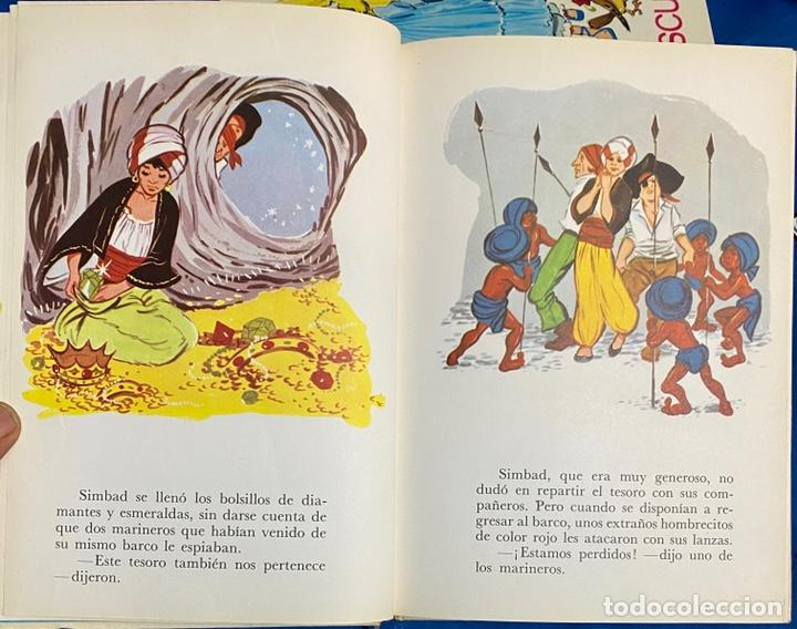 Libros de segunda mano: 1968, CUENTOS FAMOSOS. Adaptación de Eugenio Sotillo. - Foto 5 - 262822560