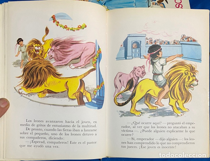 Libros de segunda mano: 1968, CUENTOS FAMOSOS. Adaptación de Eugenio Sotillo. - Foto 6 - 262822560