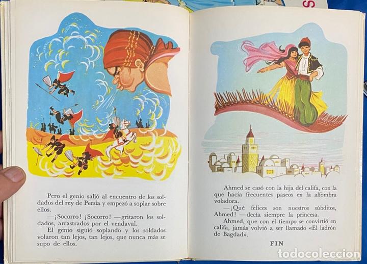 Libros de segunda mano: 1968, CUENTOS FAMOSOS. Adaptación de Eugenio Sotillo. - Foto 7 - 262822560