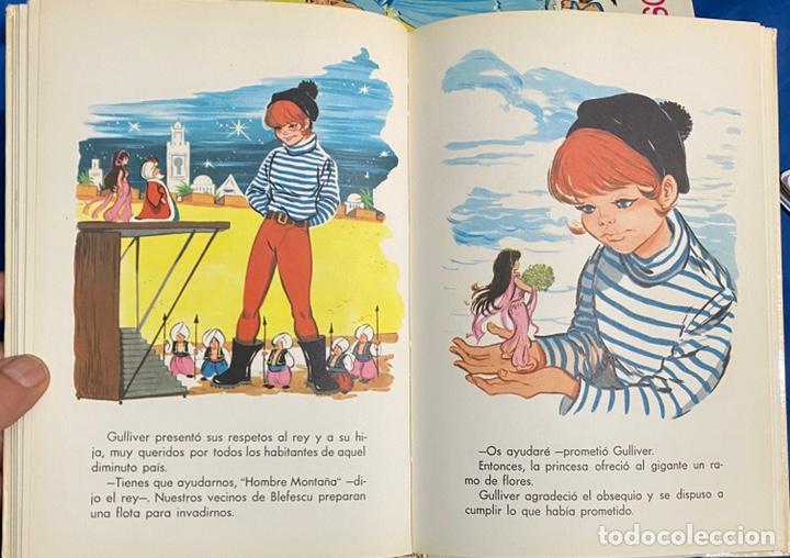 Libros de segunda mano: 1968, CUENTOS FAMOSOS. Adaptación de Eugenio Sotillo. - Foto 8 - 262822560