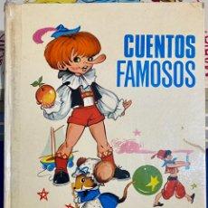 Libros de segunda mano: 1968, CUENTOS FAMOSOS. ADAPTACIÓN DE EUGENIO SOTILLO.. Lote 262822560