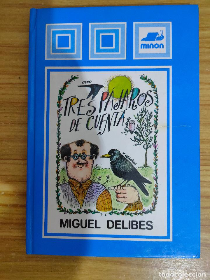 TRES PÁJAROS DE CUENTA (MIGUEL DELIBES) 1ª EDICIÓN (Libros de Segunda Mano - Literatura Infantil y Juvenil - Cuentos)