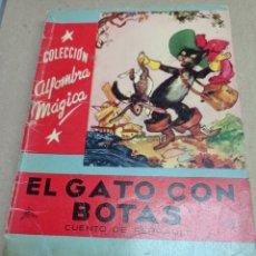 Libros de segunda mano: COLECCION ALFOMBRA MAGICA Nº 17, EL GATO CON BOTAS. Lote 262914925