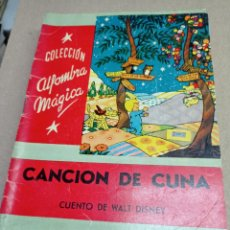 Libros de segunda mano: COLECCION ALFOMBRA MAGICA CANCION DE CUNA Nº 36 CUENTO DE WALT DISNEY. Lote 262917765