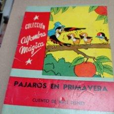 Libros de segunda mano: COLECCION ALFOMBRA MAGICANº 38 PAJAROS EN PRIMAVERA, CUENTO DE WALT DISNEY. Lote 262918215