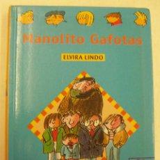 Libros de segunda mano: MANOLITO GAFOTAS - ELVIRA LINDO - 1999. Lote 262925100