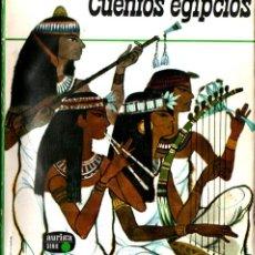 Libros de segunda mano: CUENTOS EGIPCIOS /AURIGA, 1963) ILUSTRACIONES DE PLA NARBONA. Lote 263220045