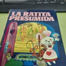 Libros de segunda mano: LA RATITA PRESUMIDA COLECCION DIN-DAN 90 ILUSTRACIONES A TODO COLOR. Lote 263577215