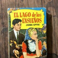 Libri di seconda mano: EL LAGO DE LOS ENSUEÑOS, COLECCION HISTORIAS,AÑO 1960, (EDITORIAL BRUGUERA). Lote 262281490