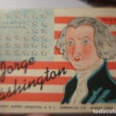 Libros de segunda mano: CUENTOS MINIATURA - JORGE WASHINGTON - - EDITORIAL SOPENA ARGENTINA - AÑO 1945. Lote 263812710