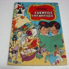 Libros de segunda mano: TESORO DE CUENTOS INFANTILES TAPA DURA BRUGUERA CONTIENE 4 CUENTOS-IMPORTANTE LEER DESCRIPCION. Lote 265151544