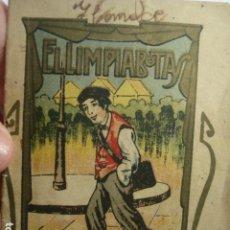Libros de segunda mano: EL LIMPIABOTAS - MINI CUENTO - LA ARTÍSTICA ESPAÑOLA - BARCELONA - AÑOS 1900. Lote 265866259