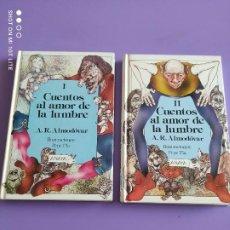 Libros de segunda mano: CUENTOS AL AMOR DE LA LUMBRE - 2 TOMOS I Y II - ANAYA - ILUSTRA PEPE PLA - TAPA DURA. Lote 266781709