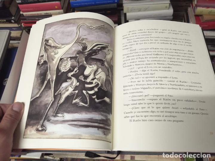 Libros de segunda mano: ALICIA EN EL PAÍS DE LAS MARAVILLAS . LEWIS CARROLL. ILUSTRACIONES MARTA GÓMEZ-PINTADO. 2009 - Foto 6 - 266975619